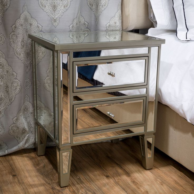 add some detail to your home with the graham end table nightstand with its unique
