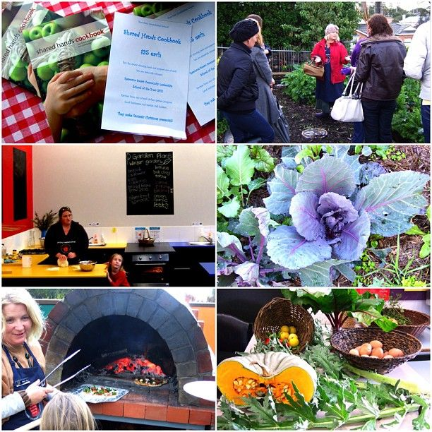 Tracy & Melissa doing an amazing job @ Port Fairy's Kitchen Garden #filthygoodfood #grow #make #share #eat Stephanie Alexander Kitchen Garden Foundation