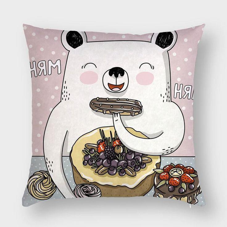 Пудровый сладкий медведь на интерьерной подушке Hipoco от @sweetpirat. 50х50 или 40х40. И присоединяйтесь к игре в предыдущем посте там весело и можно выиграть крутой кейсик #hipoco #hipocopillow#hipocoanimals#art#drawing#sketch#pink#bear#pillow#подушка#интерьер#рисунок#мишка#мишки#teddy#teddybear#подушки#печать#ткань#уют#дизайн#детская#животные#иллюстрация#графика#рисую#иллюстратор#рисунки#рисуйкаждыйдень hipoco.com