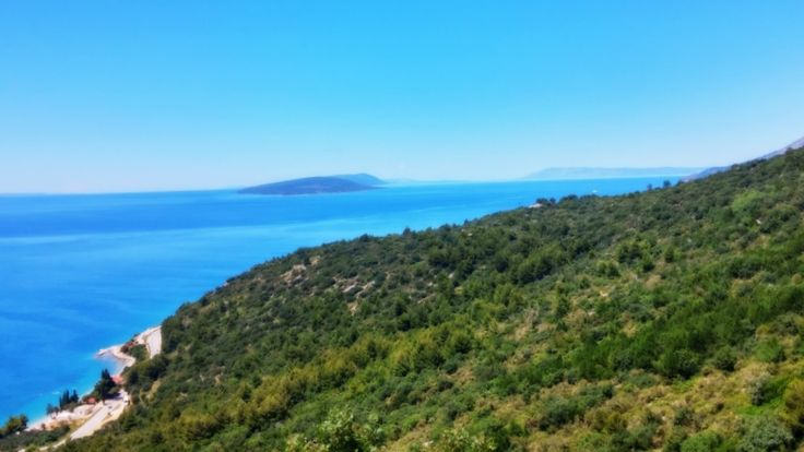 Croatia, Dalmatia: Walking uphill from the seashore to a Ghost Village from the 12th century