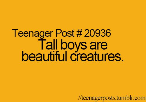Yes, yes they are. | Teenager Posts |