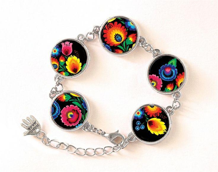 Polish folk Bracelet,  0415BOS from EgginEgg by DaWanda.com