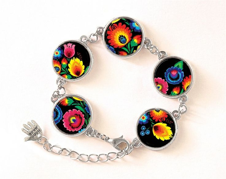 Polish folk Bracelet,  0415BOS from EgginEgg by DaWanda.com