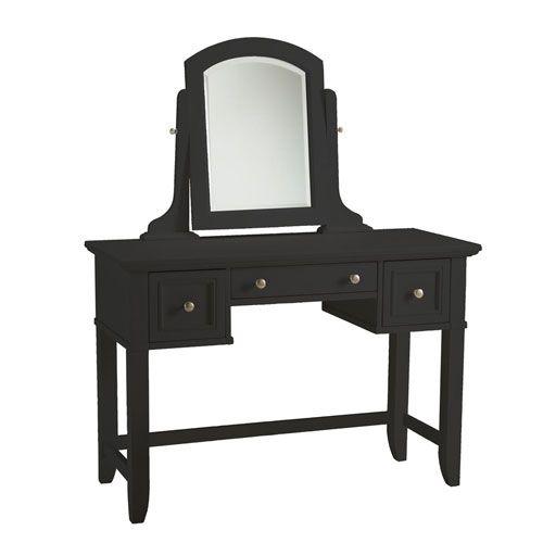 Bedford Black Vanity Table