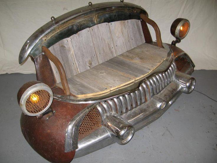 car bench!