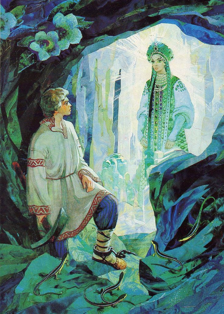 from one of my favorite Russian fairy tales