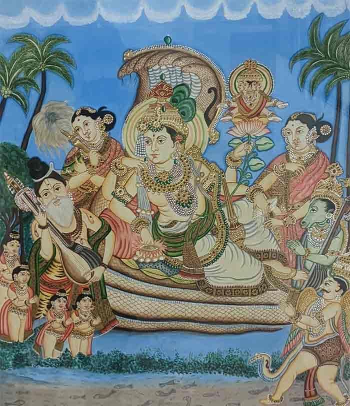 REVIVAL – Karnataka Chitrakala Parishath in 2021   Tanjore painting,  Traditional paintings, Revival