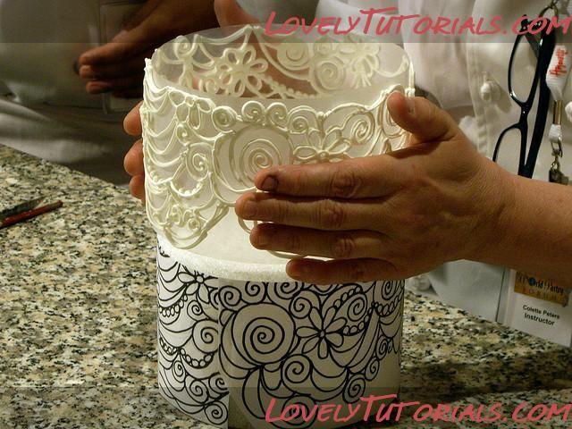 МК торт украшенный айсингом-cake decorated with royal icing - Мастер-классы по украшению тортов Cake Decorating Tutorials (How To's) Tortas Paso a Paso