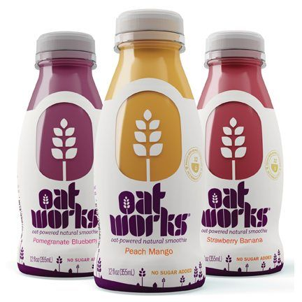 Oatworks smoothies