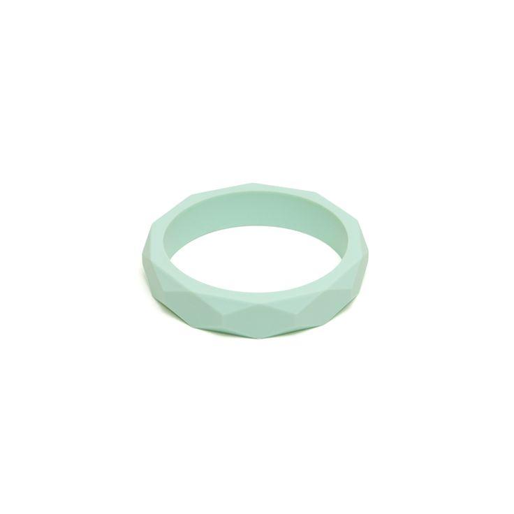 Mint Bangle - Silicone Teething Bracelet from Lara and Ollie
