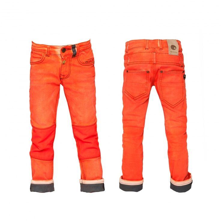 Broek Spaceman orange