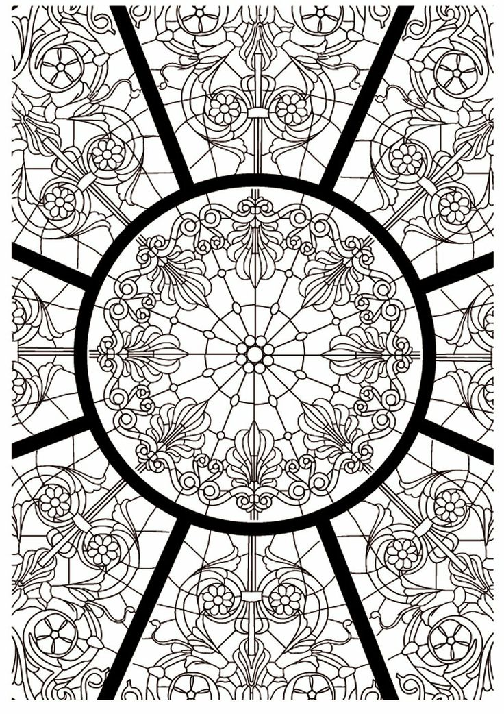 341 best mandalas images on pinterest coloring pages coloring books and vintage coloring books - Coloriage therapie ...