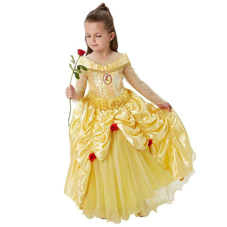 Belle en het beest premium kostuum kind