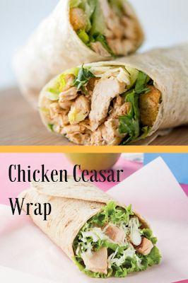 Rezepte von Vance: Rezepte – Chicken Ceasar Wrap   – Meal prep