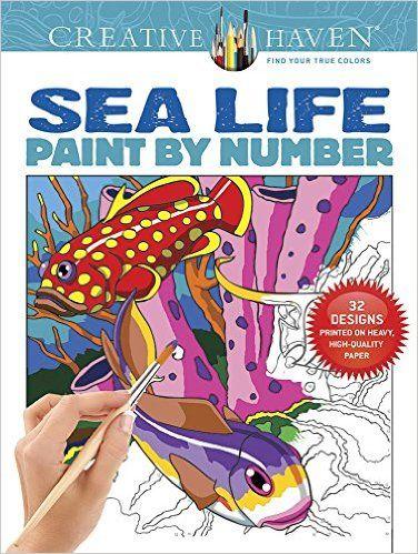 resultat dimatges de creative haven wildlife color by number coloring book gratis - Color By Number Books