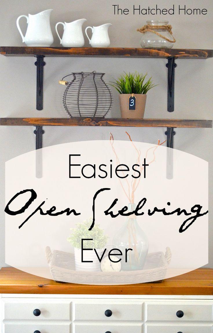 Easy Open Shelving   Your Turn To Shine   Pinterest   Open