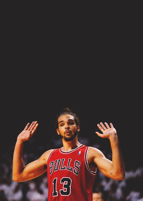 We're saddened that our Chicago Bulls are out of the playoffs but we still love us some Noah. #bullieve