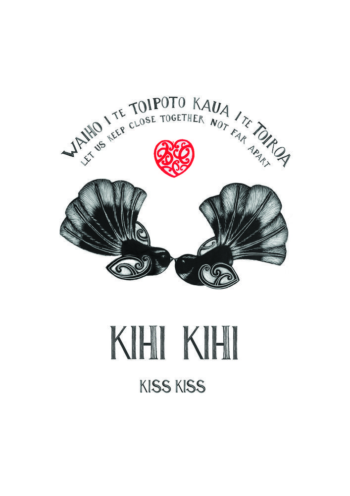 "Image of "" Kihi Kihi "" ( Kiss Kiss )"