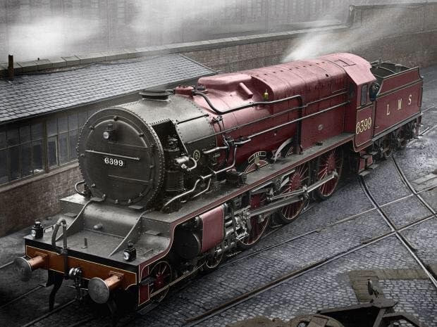 LMS 6399 Fury The London Midland and Scottish Railway (LMS) No. 6399 Fury was an unsuccessful British experimental express passenger locomotive. The intention was to save fuel by using high-pressure steam, which is thermodynamically more efficient than low-pressure steam.