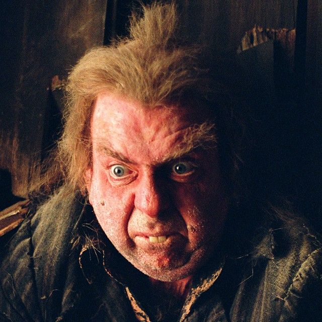 """It's one of the smallest parts I've ever played, but everywhere I go in the world I'm recognized as 'the rat dude' from the Harry Potter films."" - Timothy Spall #HarryPotter"
