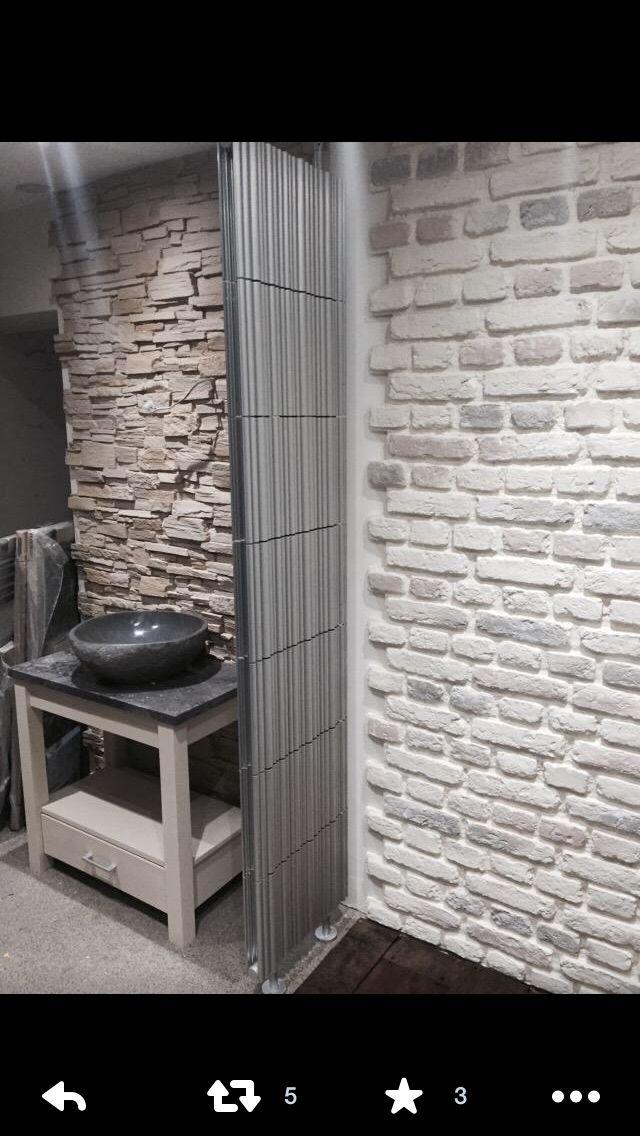 Designerwalls K8 bamboo radiator @poshbathing