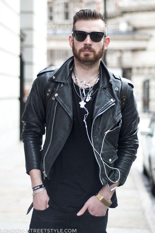 Leather street bike jackets