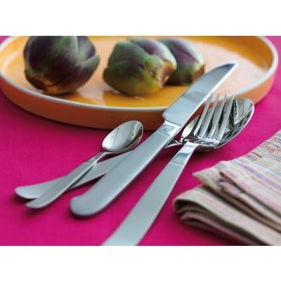 Gense Rejka har et design med en kombinationen af mat og blankt giver et elegant look. De små detaljer vil give borddækningen personlighed. anderledes og flot design. Se også her: http://bestiksaet.dk/tilbud-bestik/gense-bestikaet/rejka/gense-rejka-bestik-komplet-74-dele-12-personer.html