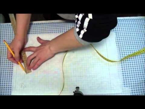 Как измерить на фигуре раствор нагрудной вытачки платья без ошибок - эксперимент. - YouTube