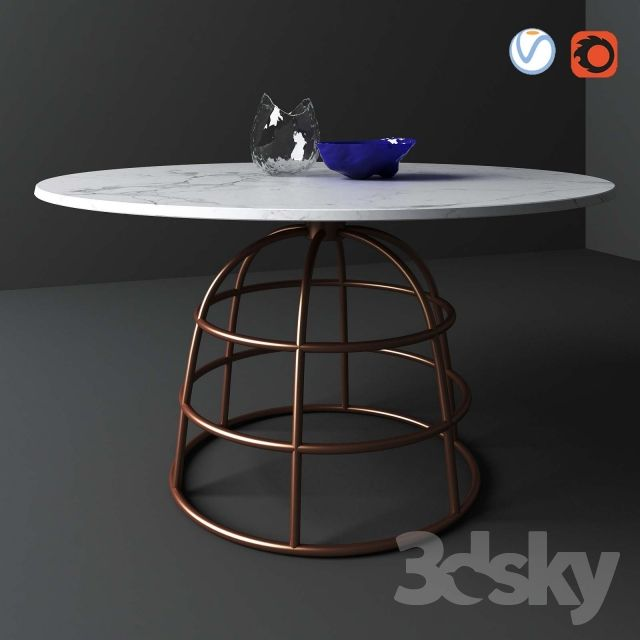 Dining Table Bonaldo Mass Table