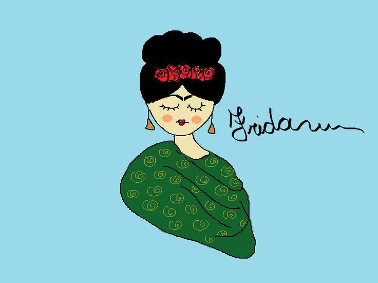 Frida about me. Progetto grafico di Antonella Varisco
