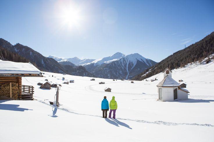 #Winterwandern in der Tschey #Sonne #tiroleroberland (c) Daniel Zangerl