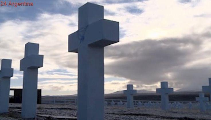 La Cruz Roja evaluará con el gobierno las tareas de identificación de tumbas en Malvinas