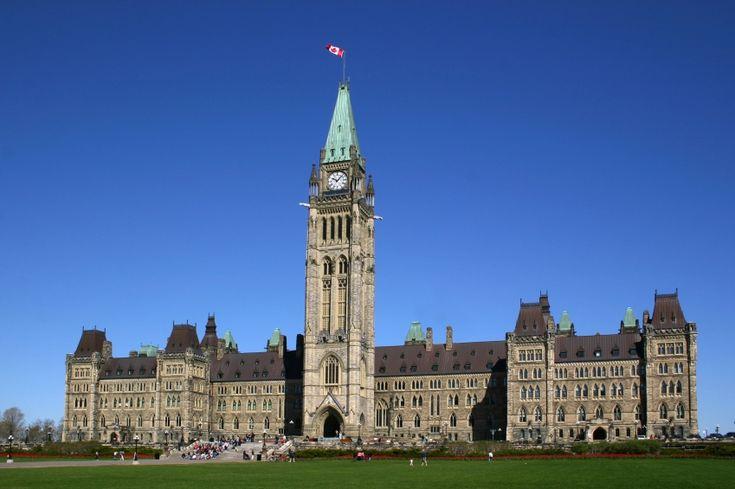 Ottawa Canada, Parliament Hill. Like a Princess, isn't it?