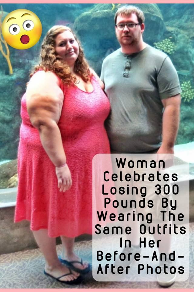 Woman Celebrates Losing 300 Pounds By Wearing The Same Outfits In Her Before And After Photos Funny Prank Videos Funny Moments Humor