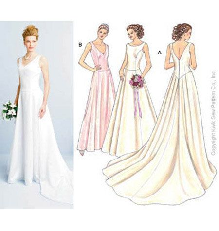 162 best Bridal Sewing Patterns images on Pinterest | Vintage ...