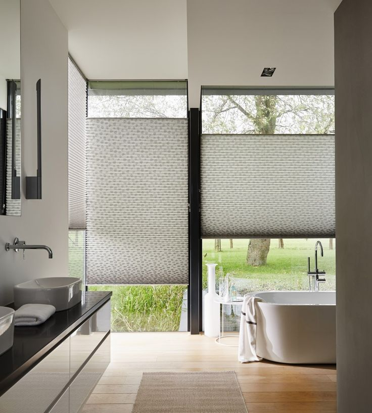 Luxaflex Plisse shades are available in a