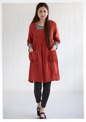 Linen/cotton dress