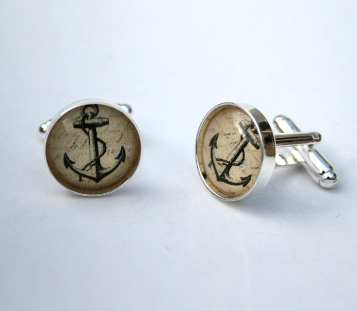 The 25 best unique gifts for him ideas on pinterest valentines vintage anchor cufflinks nautical anchor cuff links custom unique gift for him birthday gift negle Gallery