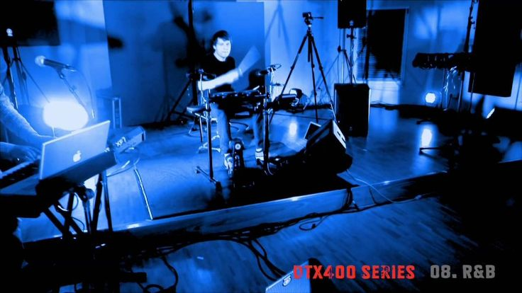 Yamaha Electronic drums DTX400 Series sound demo – 8/10 R & B Kit Electronic sounds are essential to a modern musical repertoire, and no DTX kit would be complete without them. Here's a selection of sounds from legendary drum machines and contemporary beat box samples....