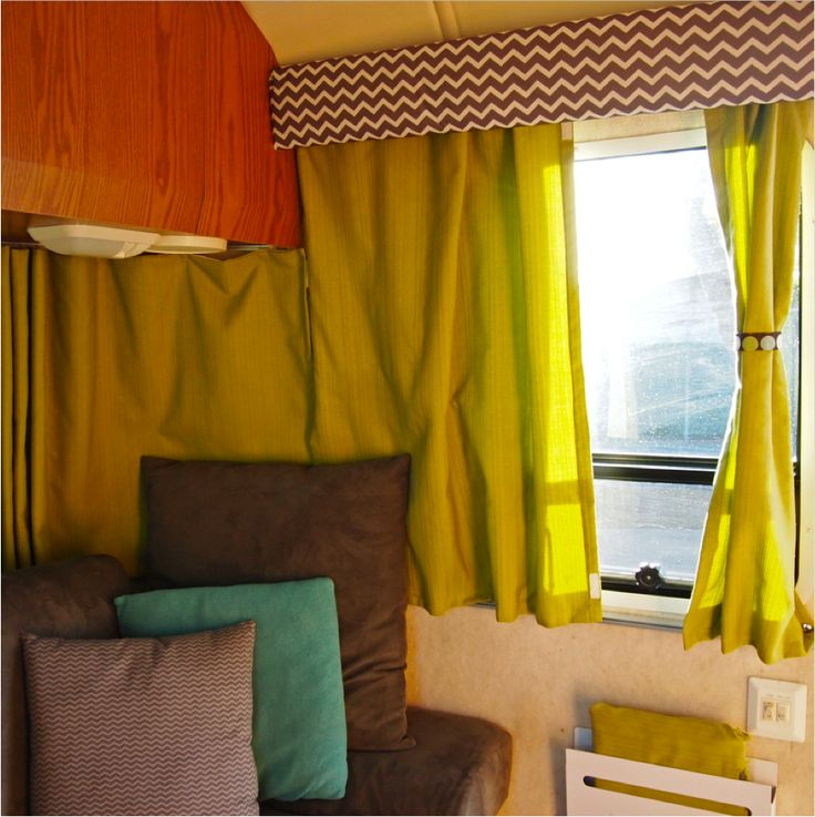 17 best images about curtain camper van on pinterest campers window coverings and rv curtains. Black Bedroom Furniture Sets. Home Design Ideas