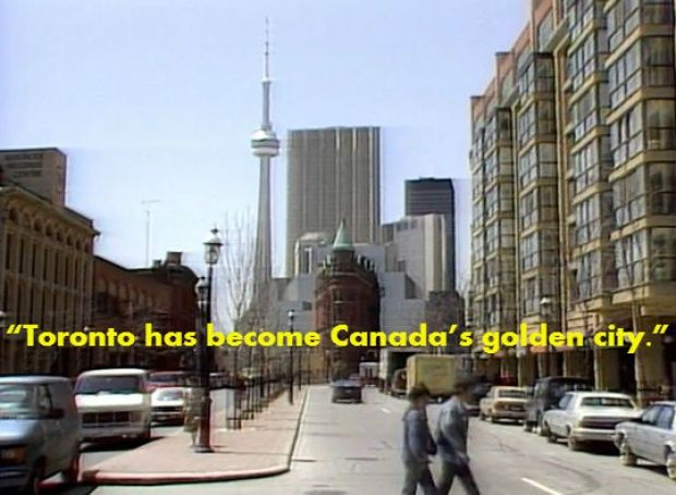 Toronto golden city