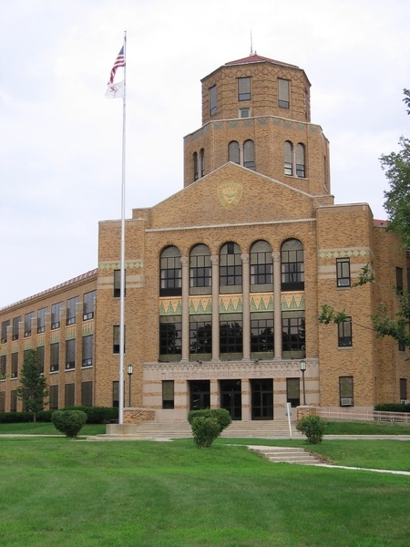 My alma mater, Maine East High School in Park Ridge, IL.