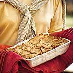Sweet Potato-Apple Cobbler Recipe | MyRecipes.com