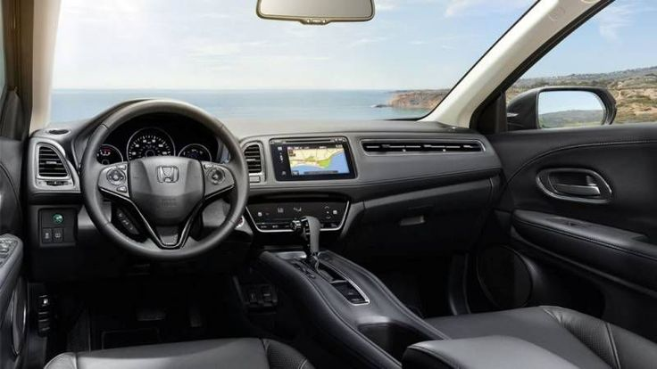 2017 Honda HRV Interior hondaofaventura.com