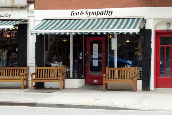 We have been listed as one of the best places for tea IN THE WORLD One of the great places for afternoon tea is the oh so British themed rooms of Tea & Sympathy in the heart of quaint Greenwich Village. Susan Branch visited and recommends!