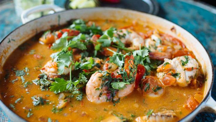 Adam Liaw's mocqueca (Brazilian fish stew) recipe - 9Kitchen