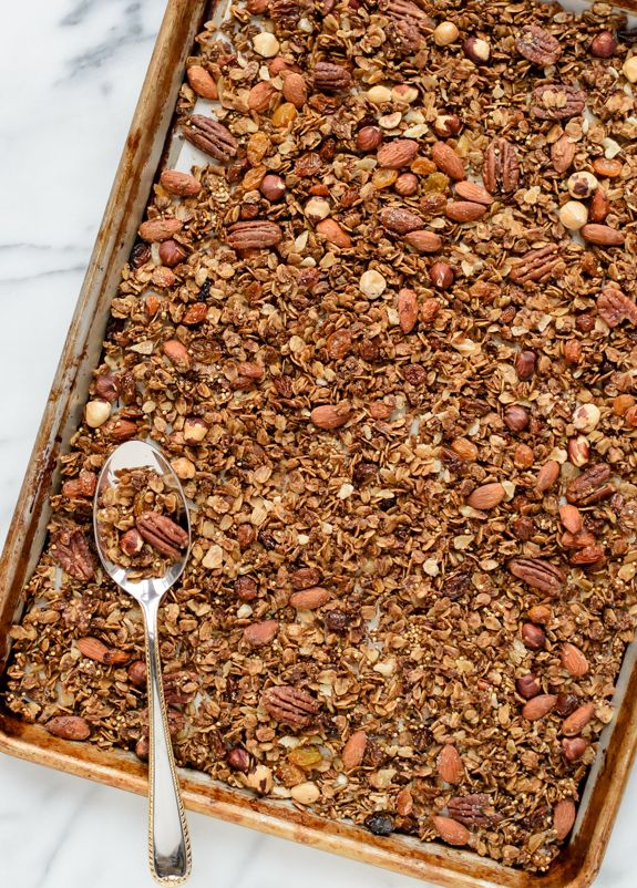 gingerbread-granola-the-best-healthy-granola-recipe-with-nuts-and-spices