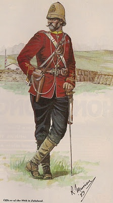 Officer of the 99th (Lanarkshire) in Zululand 1879