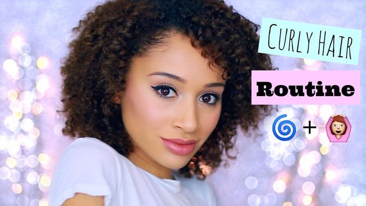 My SHORT Curly Hair Routine