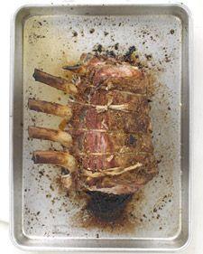 Martha Stewart's Bone in Pork Loin roast